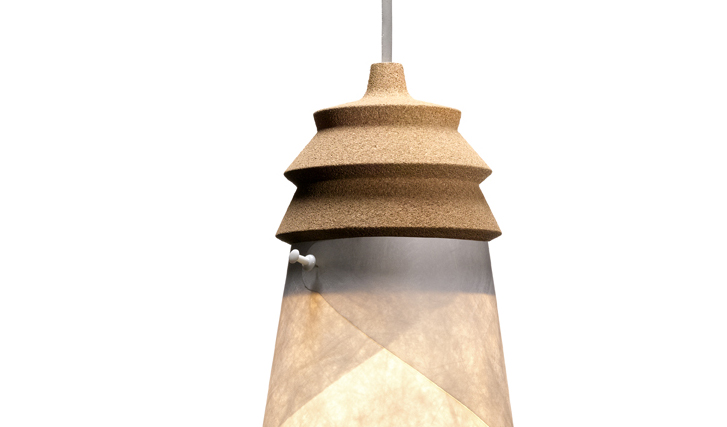Awesome Cork Lamp To Light Your Home While Decorating It. CORKWAY