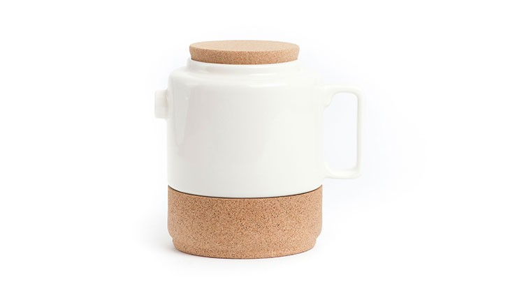 cork tea pot